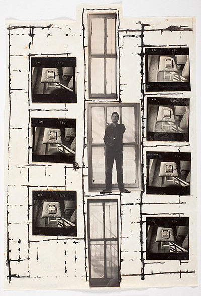 Burroughs: William S Burroughs, Untitled, 1975