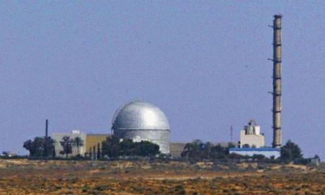 Reactor nuclear de Israel en Dimona.