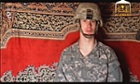 A 2009 still from the Taliban's al-Emara Jihadi Studio of captivef US soldier Bowe Bergdahl.