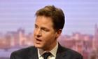 Nick Clegg is hosting his LBC phone-in