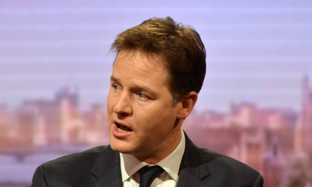 Nick Clegg is hosting his LBC phone-in