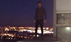 Liam from One Direction ledge