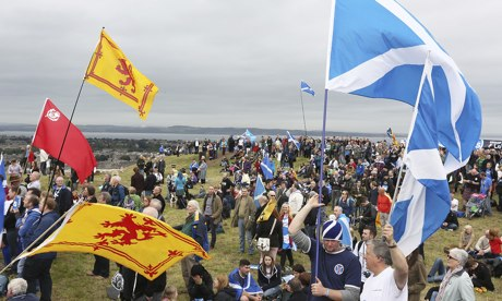 Scottish independence rally, Edinburgh, 21/09/13