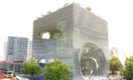 Holey moley! Architecture's trend for cutting holes in buildings