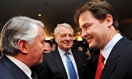 Nick Clegg becomes new Liberal Democrat leader, London, Britain - 18 Dec 2007