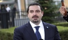 Saad Hariri: culture of impunity in Lebanon must end before I return