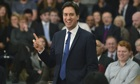 Labour leader Ed Miliband during his speech on the economy