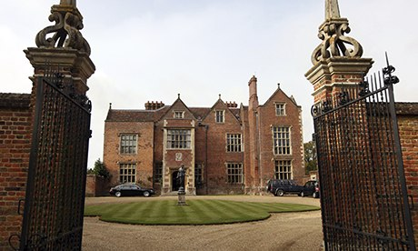 Chequers front gate