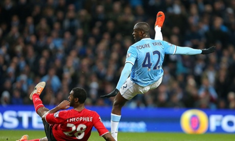 Yaya Toure makes it 3-1 to City.