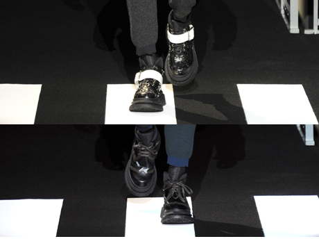 shoes at Kenzo Men's AW14
