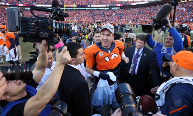 Peyton Manning and the Denver Broncos are heading to the Super Bowl after defeating the New England Patriots 26-16 in the AFC Championship Game.