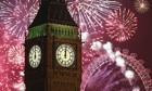 Firework display in London 2014