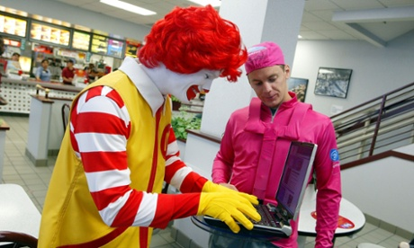 McDonald's internet wifi