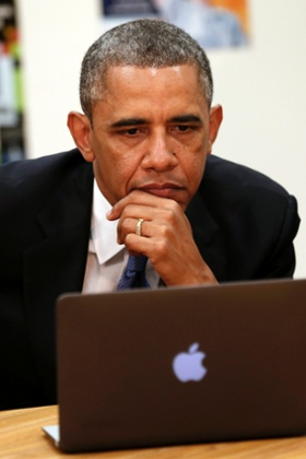 Obama internet wifi school