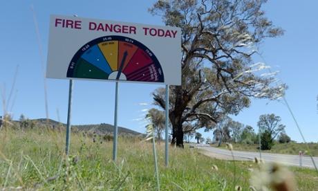fire danger hot weather