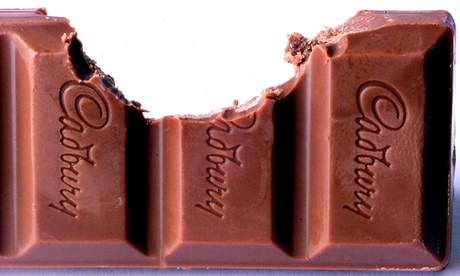 chocolate bar bite mark