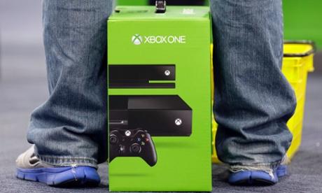 Xbox One console in box