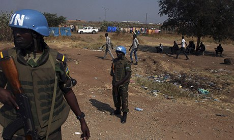 Rwandan UN peacekeepers in South Sudan