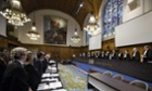 The International Court of Justice in The Hague hearing the case between Timor-Leste and Australia