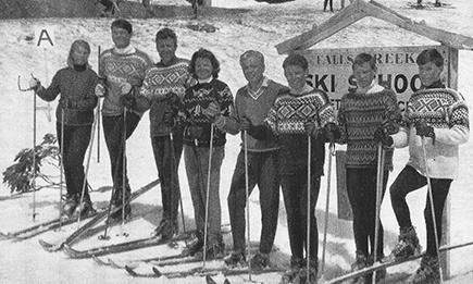 Australia's winter Olympics team 1964