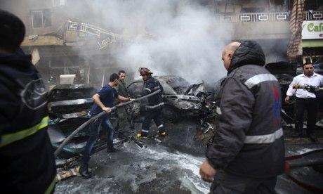 Fatal explosión:Un coche bomba estalló en un barrio chiíta matando a cuatro personas el último ataque contra los partidarios del grupo