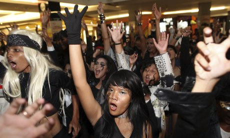 Lady Gaga fans Indonesia
