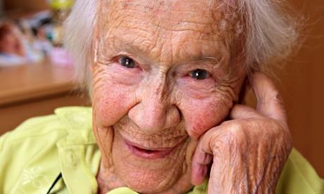 Gertrud Dyck 105. Geburtstag