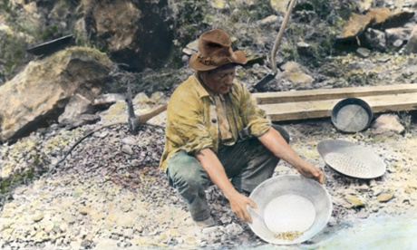 gold rush california 1890