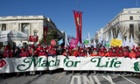 March for Life abortion protest