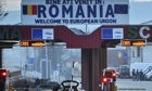 Romanian border crossing point
