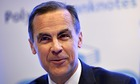 Interest rate rise not on the agenda, says Bank of England governor