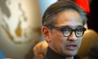 Foreign Minister Marty Natalegawa announcs Indonesia decision to recall its ambassador to Australia over claims that Australian spy agencies tried to listen to the phone calls of President Susilo Bambang Yudhoyono.