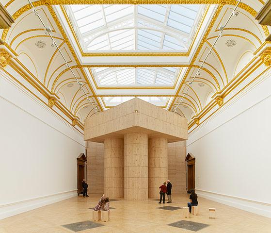Architecture: Blue Pavilion By Pezo Von Ellrichshausen