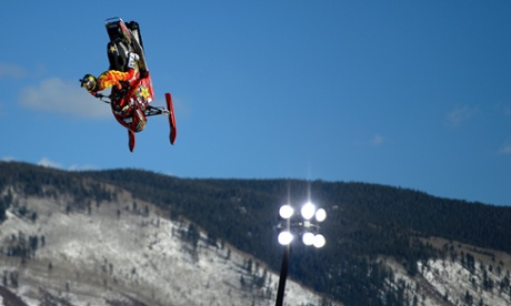 Colten Moore won the snowmobile freestyle a year after older brother, Caleb, died in the competition