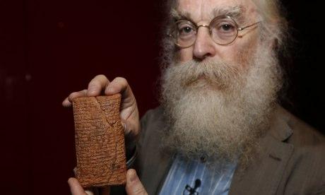 Dr. I. Finkel, Babil tablet