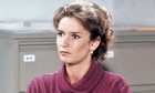 Caroline Bliss as Miss Moneypenny in Licence to Kill