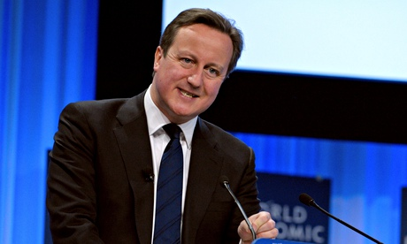 British Prime Minister David Cameron tal