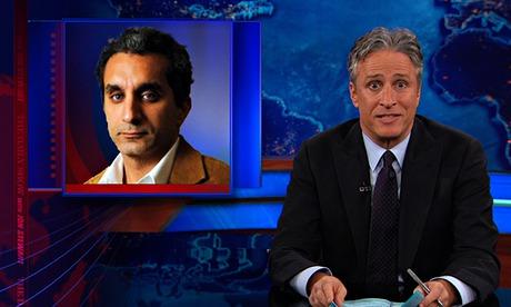 Bassem Youssef Jon Stewart