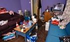 Untidy flat