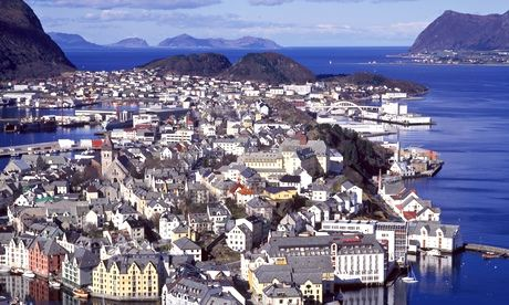 Norway … the nice side, at least.
