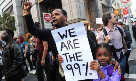 Occupy Wall Street 99% tax