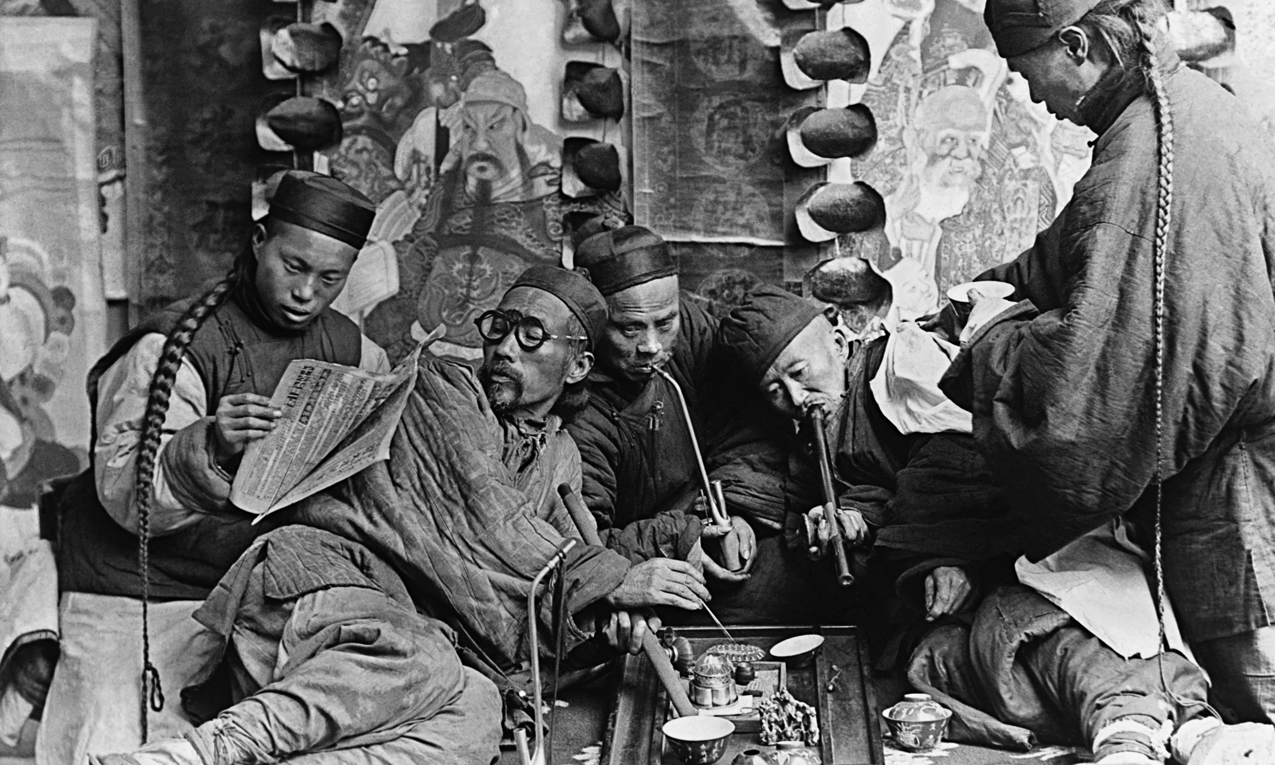opium trade in china in the 18th century