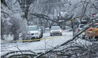 Ice storm in eastern Canada