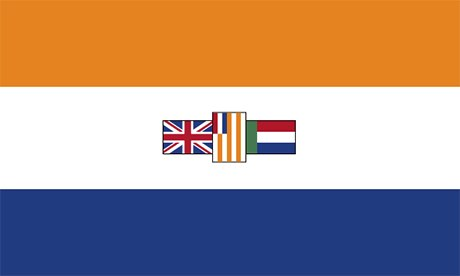 South Africa flag, 1928-1994