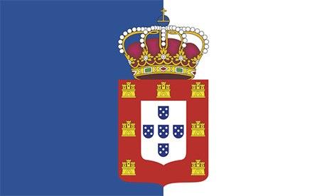 Portugal flag, 1830-1910