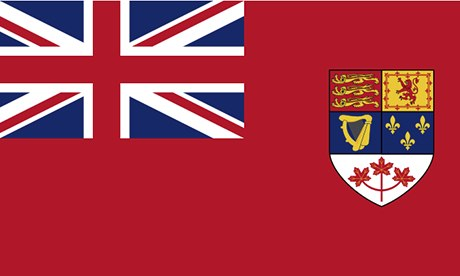 Canadian flag, 1957-65