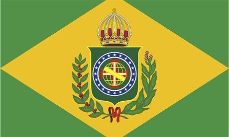 Brazil flag, 1870-89