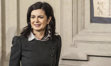 Laura Boldrini, speaker of the Italian parliament
