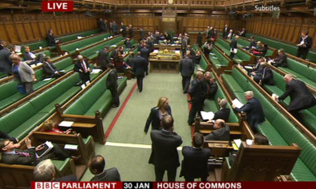 MPs voting on the immigration bill