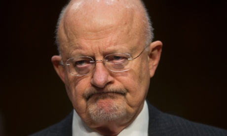 James Clapper testifying